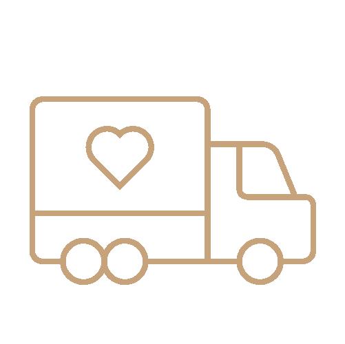 camion consegna prodotti per parrucchieri